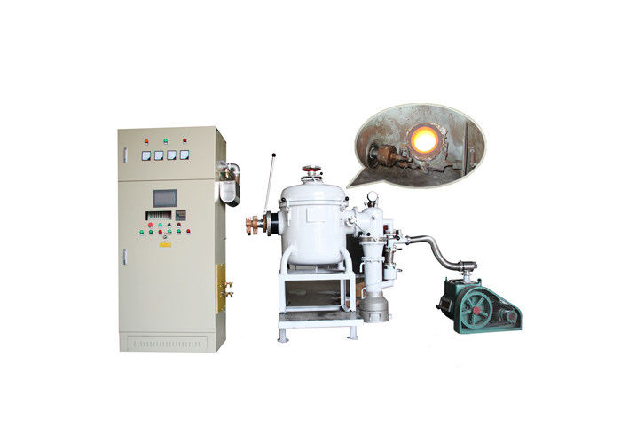 Induction High Temperature Vacuum Melting Furnace Medium Frequency Alloy Feeder